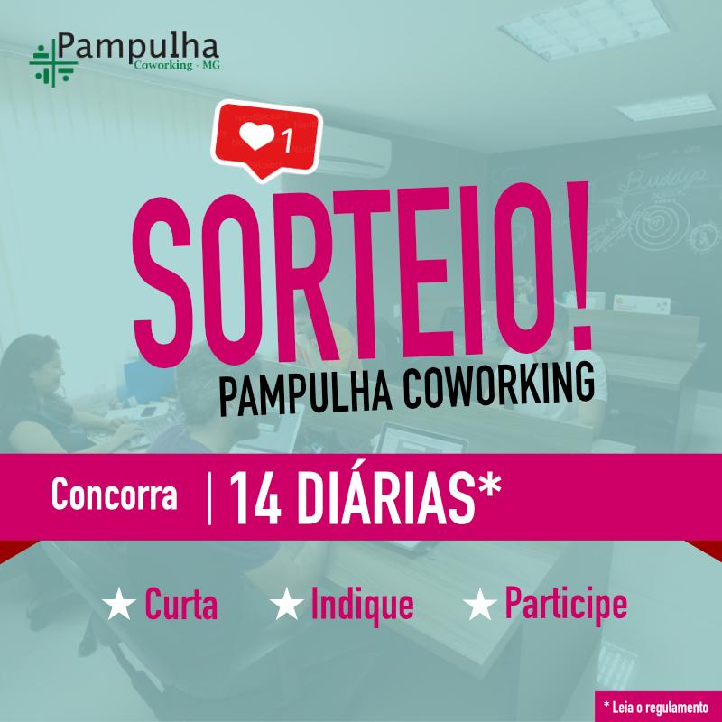 Sorteio Pampulha Coworking (diárias)